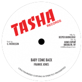 SALE ITEM - Frankie Jones - Baby Come Back (Tasha Records / DKR) US 10""